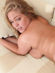 Hot chubby GF Abbey gets her pussy fucked