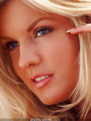Tommie Jo - is a stunning British blonde with blue eyes