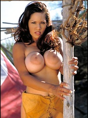 Farmers Daughter with Big Areolas in Jeans