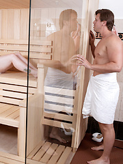 Sauna-shower-sex