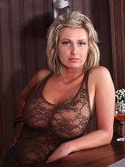 Viki Volish with busty MILF girlfriend